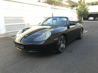 2000 Porsche 911 996 Carrera Cabriolet Black 5 Speed Sports Automatic Convertible.