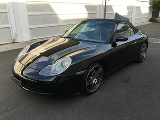 2000 Porsche 911 996 Carrera Cabriolet Black 5 Speed Sports Automatic Convertible