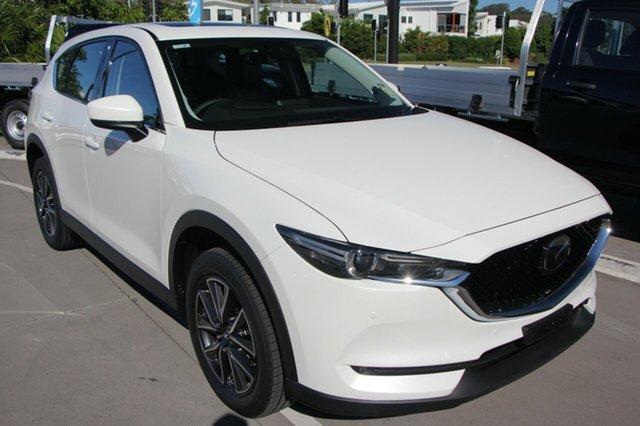 New Mazda CX-5 KF4WLA Akera SKYACTIV-Drive i-ACTIV AWD, 2019 Mazda CX-5 AKERA Akera SKYACTIV-Drive i-ACTIV AWD White 6 Speed Automatic Wagon