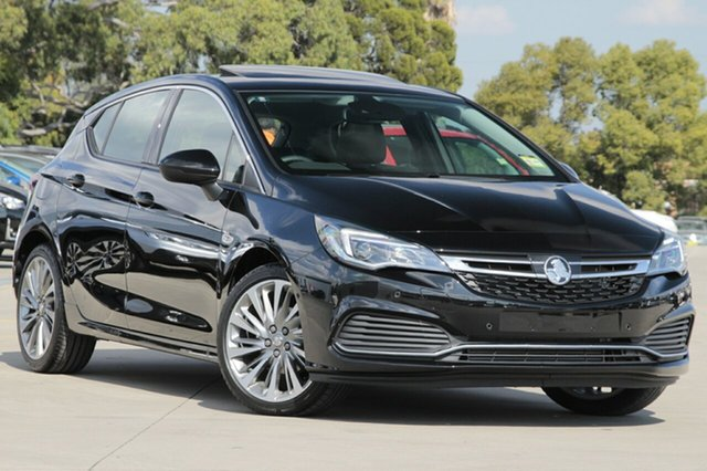 New Holden Astra BK MY19 RS-V, 2019 Holden Astra BK MY19 RS-V Mineral Black 6 Speed Sports Automatic Hatchback