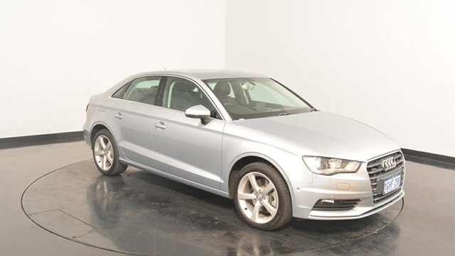 Used Audi A3 8V MY15 Ambition S tronic, 2014 Audi A3 8V MY15 Ambition S tronic Silver 7 Speed Sports Automatic Dual Clutch Sedan