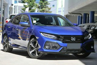 2019 Honda Civic 10th Gen MY19 RS Blue 1 Speed Constant Variable Hatchback.