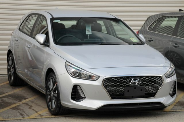 New Hyundai i30 PD2 MY18 Elite, 2018 Hyundai i30 PD2 MY18 Elite Platinum Silver Metallic 6 Speed Sports Automatic Hatchback