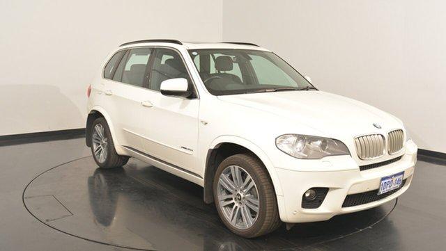 Used BMW X5 E70 MY11.5 xDrive40d Steptronic Sport, 2011 BMW X5 E70 MY11.5 xDrive40d Steptronic Sport White 8 Speed Sports Automatic Wagon