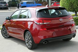 2018 Hyundai i30 PD2 MY18 SR D-CT Fiery Red 7 Speed Sports Automatic Dual Clutch Hatchback.
