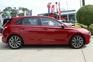 2018 Hyundai i30 PD2 MY18 SR D-CT Fiery Red 7 Speed Sports Automatic Dual Clutch Hatchback