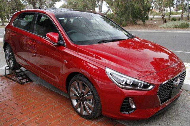 New Hyundai i30 PD MY18 SR D-CT Premium, 2018 Hyundai i30 PD MY18 SR D-CT Premium Fiery Red 7 Speed Sports Automatic Dual Clutch Hatchback