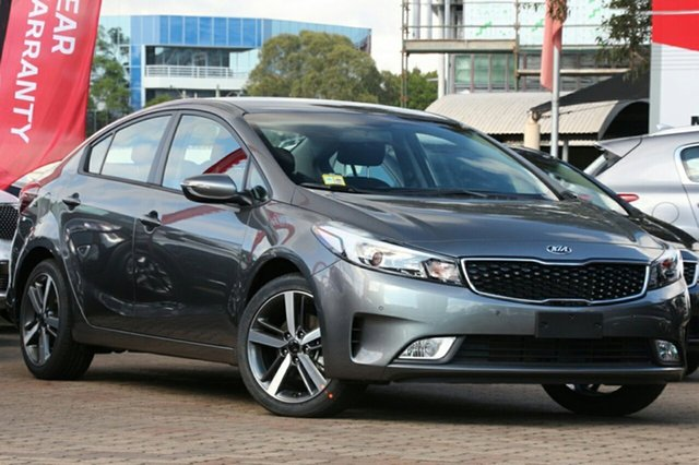 New Kia Cerato YD MY18 Sport, 2017 Kia Cerato YD MY18 Sport Metal Stream 6 Speed Sports Automatic Sedan