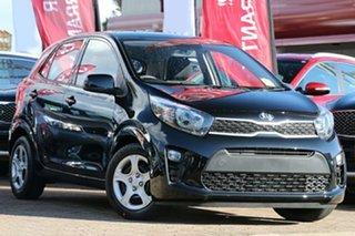 2018 Kia Picanto JA MY19 S Aurora Black 4 Speed Automatic Hatchback.