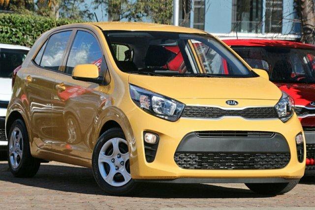 New Kia Picanto JA MY19 S, 2019 Kia Picanto JA MY19 S Yellow 4 Speed Automatic Hatchback