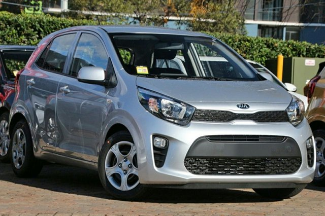 New Kia Picanto JA MY19 S, 2019 Kia Picanto JA MY19 S Silver 4 Speed Automatic Hatchback