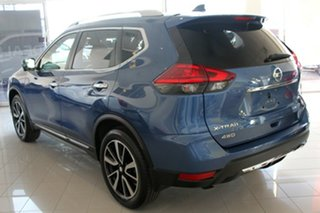 2018 Nissan X-Trail T32 Series II Ti X-tronic 4WD Marine Blue 7 Speed Constant Variable Wagon.