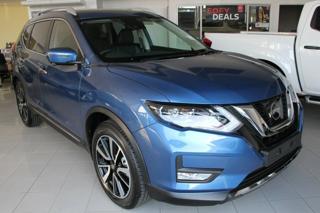 New Nissan X-Trail T32 Series II Ti X-tronic 4WD, 2018 Nissan X-Trail T32 Series II Ti X-tronic 4WD Marine Blue 7 Speed Constant Variable Wagon
