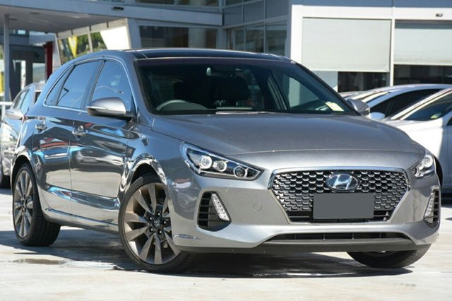 New Hyundai i30 PD MY18 SR D-CT Premium, 2017 Hyundai i30 PD MY18 SR D-CT Premium Sparkling Metal 7 Speed Sports Automatic Dual Clutch