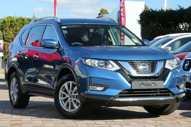 New Nissan X-Trail T32 Series II ST-L X-tronic 2WD, 2017 Nissan X-Trail T32 Series II ST-L X-tronic 2WD Marine Blue 7 Speed Constant Variable Wagon
