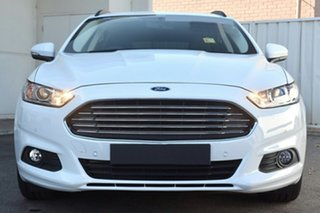 2017 Ford Mondeo MD 2017.50MY Ambiente PwrShift White Platinum Tri-Coat 6 Speed