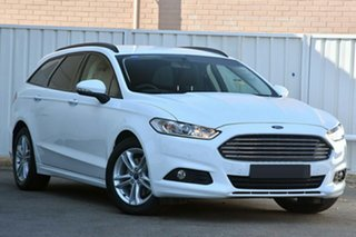 2017 Ford Mondeo MD 2017.50MY Ambiente PwrShift White Platinum Tri-Coat 6 Speed.