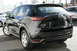 2021 Mazda CX-5 KF2W7A Maxx SKYACTIV-Drive FWD Jet Black 6 Speed Sports Automatic Wagon.