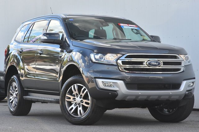 New Ford Everest UA MY18 Trend 4WD, 2017 Ford Everest UA MY18 Trend 4WD Meteor Grey 6 Speed Sports Automatic Wagon