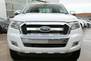 2018 Ford Ranger PX MkII MY18 XLT Double Cab Frozen White 6 Speed Manual Utility