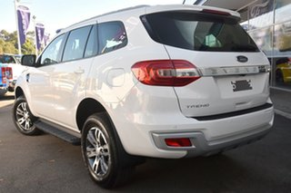 2018 Ford Everest UA MY18 Trend 4WD Arctic White 6 Speed Sports Automatic Wagon