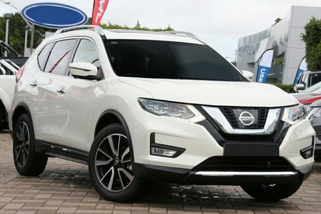 New Nissan X-Trail T32 MY20 TI (4x4) Castle Hill, 2020 Nissan X-Trail T32 MY20 TI (4x4) Ivory Pearl Continuous Variable Wagon