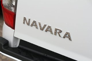 2020 Nissan Navara D23 S4 MY20 ST 4x2 Polar White 6 Speed Manual Utility