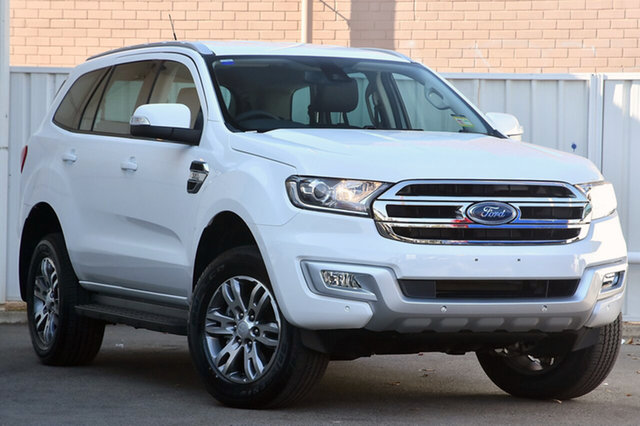 New Ford Everest UA MY18 Trend 4WD, 2018 Ford Everest UA MY18 Trend 4WD Arctic White 6 Speed Sports Automatic Wagon