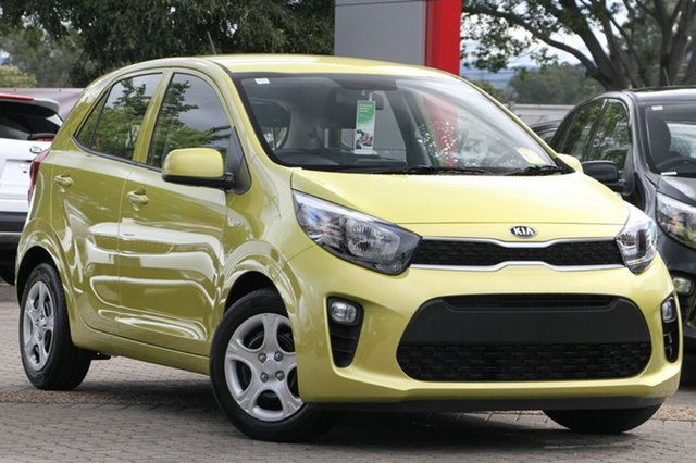 New Kia Picanto JA MY19 S, 2019 Kia Picanto JA MY19 S Lime Green 4 Speed Automatic Hatchback