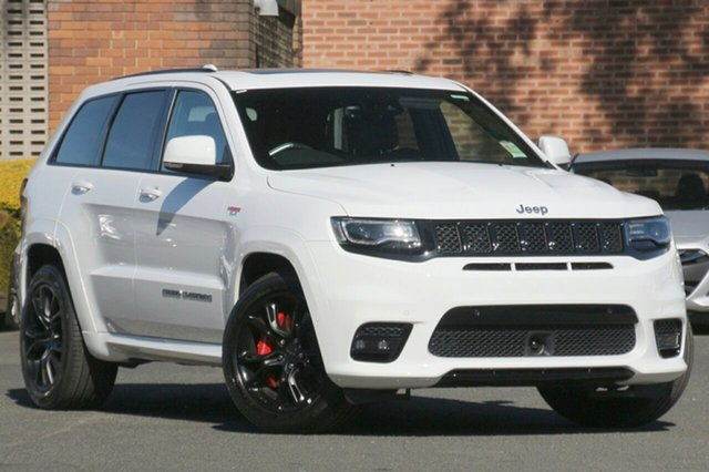 New Jeep Grand Cherokee WK MY20 SRT Nunawading, 2020 Jeep Grand Cherokee WK MY20 SRT Bright White 8 Speed Sports Automatic Wagon