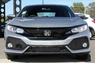 2019 Honda Civic 10th Gen MY19 VTi-S Lunar Silver 1 Speed Constant Variable Hatchback