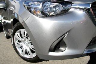 2018 Mazda 2 DJ2HA6 Neo SKYACTIV-MT Aluminium 6 Speed Manual Hatchback.