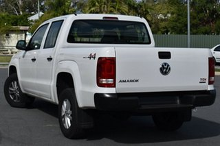 2021 Volkswagen Amarok 2H MY21 TDI420 4MOTION Perm Core Candy White 8 Speed Automatic Utility.