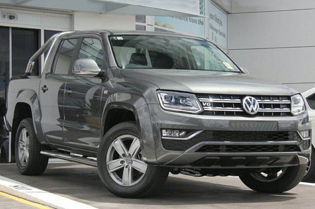 New Volkswagen Amarok 2H MY19 TDI550 4MOTION Perm Highline, 2019 Volkswagen Amarok 2H MY19 TDI550 4MOTION Perm Highline Indium Grey 8 Speed Automatic Utility