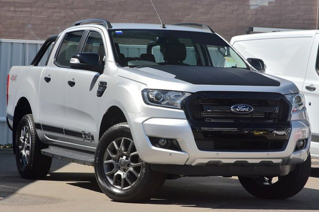 New Ford Ranger PX MkII FX4 Double Cab, 2017 Ford Ranger PX MkII FX4 Double Cab Ingot Silver 6 Speed Sports Automatic Utility