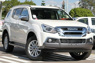 2018 Isuzu MU-X MY18 LS-T Rev-Tronic Silky White 6 Speed Sports Automatic Wagon.