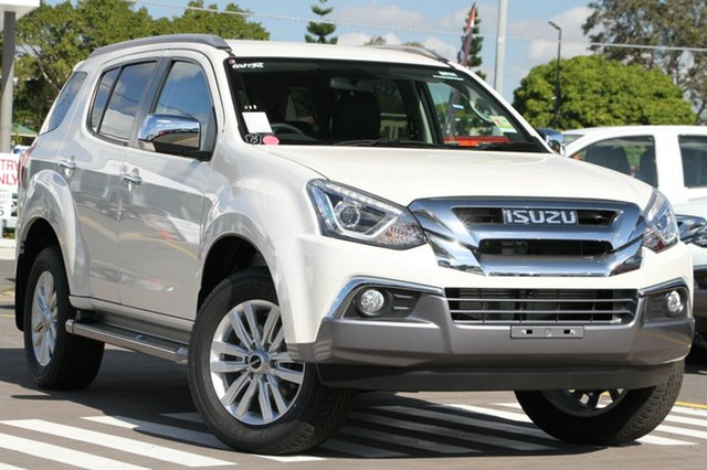 New Isuzu MU-X MY18 LS-T Rev-Tronic, 2018 Isuzu MU-X MY18 LS-T Rev-Tronic Silky White 6 Speed Sports Automatic Wagon