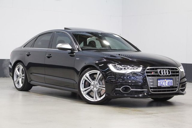 Used Audi S6 4GL 4.0 TFSI LE, 2013 Audi S6 4GL 4.0 TFSI LE Black 7 Speed Auto Direct Shift Sedan