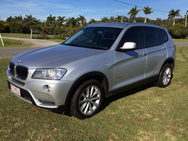 Used BMW X3 F25 MY0412 xDrive20d Steptronic, 2012 BMW X3 F25 MY0412 xDrive20d Steptronic Silver 8 Speed Automatic Wagon