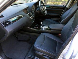 2012 BMW X3 F25 MY0412 xDrive20d Steptronic Silver 8 Speed Automatic Wagon
