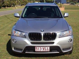 2012 BMW X3 F25 MY0412 xDrive20d Steptronic Silver 8 Speed Automatic Wagon.
