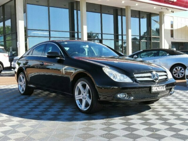 Used Mercedes-Benz CLS350 C219 MY08 Coupe, 2008 Mercedes-Benz CLS350 C219 MY08 Coupe Black 7 Speed Sports Automatic Sedan