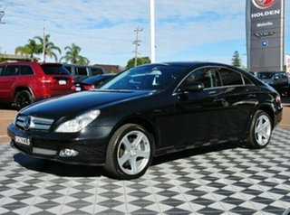 2008 Mercedes-Benz CLS350 C219 MY08 Coupe Black 7 Speed Sports Automatic Sedan.