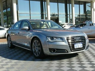 2012 Audi A8 4H MY12 Tiptronic Quattro Grey 8 Speed Sports Automatic Sedan.