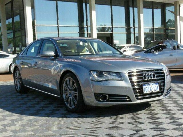 Used Audi A8 4H MY12 Tiptronic Quattro, 2012 Audi A8 4H MY12 Tiptronic Quattro Grey 8 Speed Sports Automatic Sedan