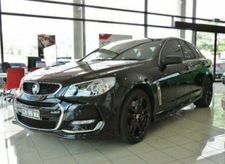 2015 Holden Commodore VF II MY16 SS V Redline Black 6 Speed Sports Automatic Sedan.