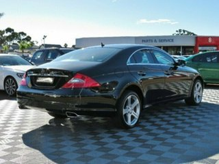 2008 Mercedes-Benz CLS350 C219 MY08 Coupe Black 7 Speed Sports Automatic Sedan
