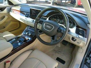 2012 Audi A8 4H MY12 Tiptronic Quattro Grey 8 Speed Sports Automatic Sedan