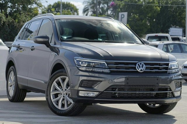 New Volkswagen Tiguan 5N MY20 162TSI DSG 4MOTION Highline Victoria Park, 2020 Volkswagen Tiguan 5N MY20 162TSI DSG 4MOTION Highline Platinum Grey 7 Speed