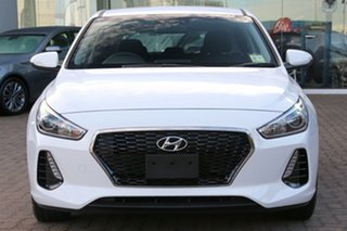 2018 Hyundai i30 PD2 MY18 Active Polar White 6 Speed Sports Automatic Hatchback